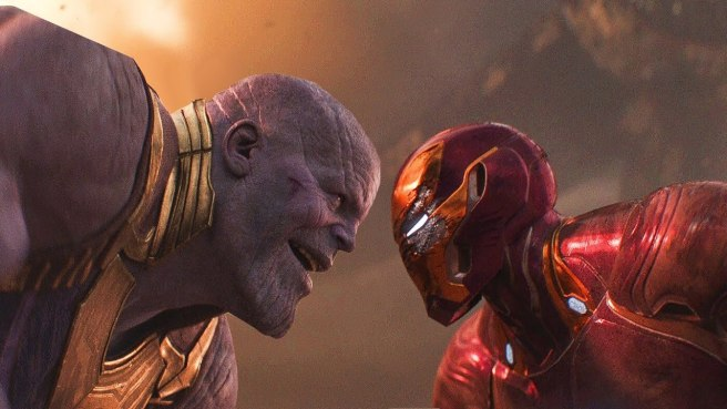 iron man v thanos